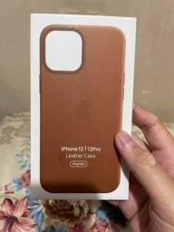 Case iphone 12 couro