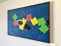 Quadro Chuva de papel (1,03x63cm)