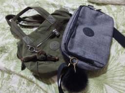 Título do anúncio: 2 bolsas Kipling novas e originais