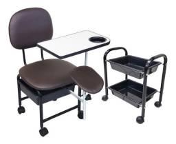 Cadeira Manicure e Pedicure