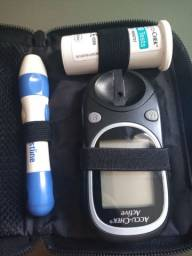 Estojo de medir diabete