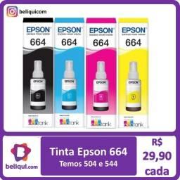 Título do anúncio: Tinta Epson 664