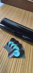 Adesivo Black Piano Ultra Brilho com Película Protetora