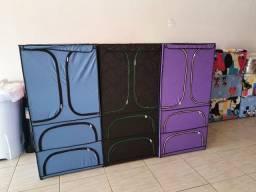 Roupeiro multiuso 4 compartimento