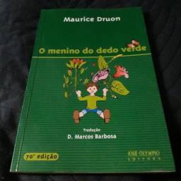 Livro- O menino do dedo verde - Maurive Druon