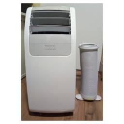 Ar Condicionado Portátil Electrolux com controle remoto 10.000 Btus Frio