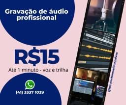 Título do anúncio: Spot para radio,spot comercial,gravação de propaganda online