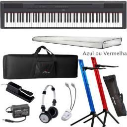 Yamaha Piano Digital  P125 Kit Produto Novo Loja Fisica