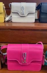 Bolsa Santa Lolla Transversal Pink Promoção