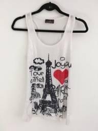 Blusa paetês paris