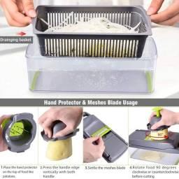 Fatiador ralador cortador de legumes multifuncional novo lacrado cozinha