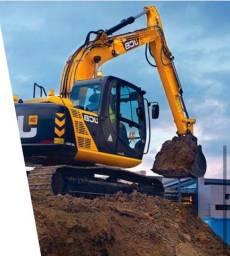 Locação mensal escavadeira Hidráulica JCB