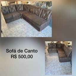 Sofá / Sofá de Canto