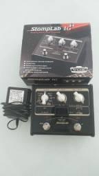 Pedal Amplificador de som