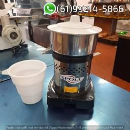 Extrator Espremedor de suco Pequeno Inox Industrial 184w Spolu
