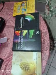 Vários livros de Química