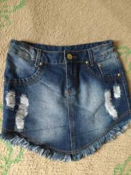 Saia jeans 38