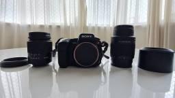 Sony Alpha 350 com 2 lentes originais