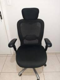 Título do anúncio:  Cadeira de escritório ergonômica  presidente ergomax 500$