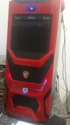 PC gamer com rx480 de 8gb, troco em notebook ou vendo