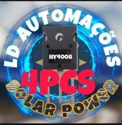 Hy4008 Mosfet ( Kit C/ 4 Peças) Hy4008w 80v 200a 100%original
