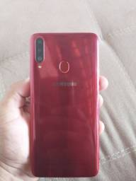 Samsung A20s Novo na caixa