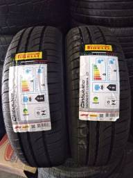 Vendo par de pneu 175/65/14 Pirelli cinturato p1 zero
