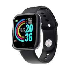 Smartwatch D20/ Y68 Relógio Esportivo Inteligente com Conectividade Bluetooth