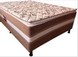 Título do anúncio: cama box casal - acoplada com piloww