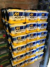 Baterias Mouras 60AH, com 18 meses de garantia por apenas R$319,99
