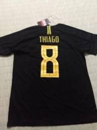 Camisa Brasil preta G