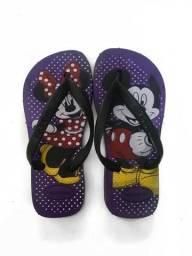 Chinelo Havaianas Infantil Mickey Disney Novo