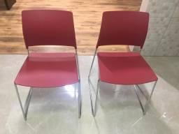 Cadeira inox zerada R$400