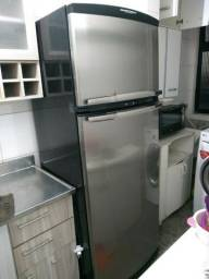 Refrigerador Brastemp Frost Free Inox