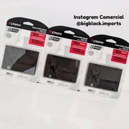SSD Kingston A400 120GB - 500mb/s para Leitura e 320mb/s para Gravação