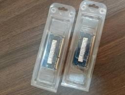 Memória Notebook DDR3 PC3 10600S 1GB kit 2 unidades novas em Promoção na loja AT Proaudio!
