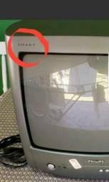 Vendo TELEVISOR RETRÔ COLORIDA PHILIPS SMART TV