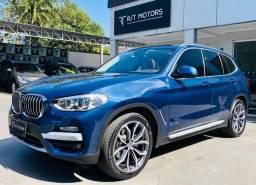 BMW X3 X-Drive 30i 2018 - Só 14 mil km - TOP c/ Teto, GPS e mais - 2018