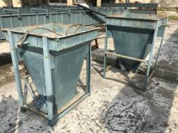 1 Forma cesto para transporte de concreto de 1/2 metro de concreto