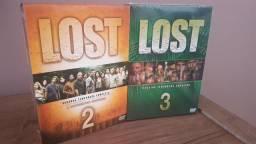 Box Coleção DVD Lost 2ª e 3ª Temporada