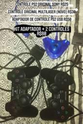 CONTROLES PS2/USB/PC