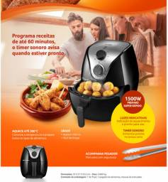 Fritadeira Elétrica Air Fryer 4 Litros Multilaser 127V Preta - CE021