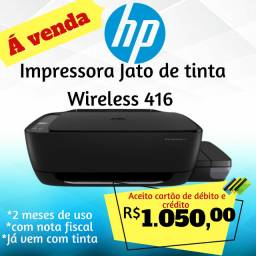Impressora hp wireless jato de tinta