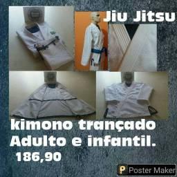 Atacado Kimonos Jiu Jitsu trançado Adulto e infantil promoção