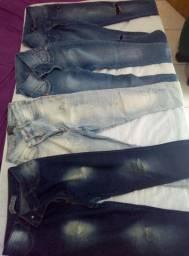 Combo 4 calcas jeans número 42