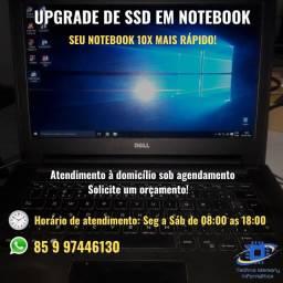 Upgrade de SSD em notebook