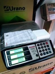 Balança Comercial Urano 20 Kg. Bateria / Nova Nunca Usada