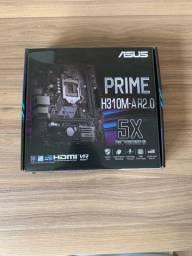 Kit upgrade - Placa mãe asus h310 com processador i3 9100