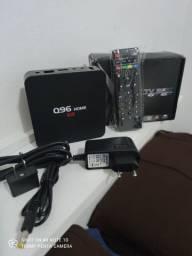 TV BOX Q96 4K , Transforme sua tv em smartv ACEITO CARTÃO ATÉ 12X