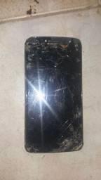Moto e 4 plus display quebrado